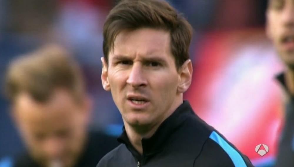 Leo Messi, tras caer eliminado ante el Atlético