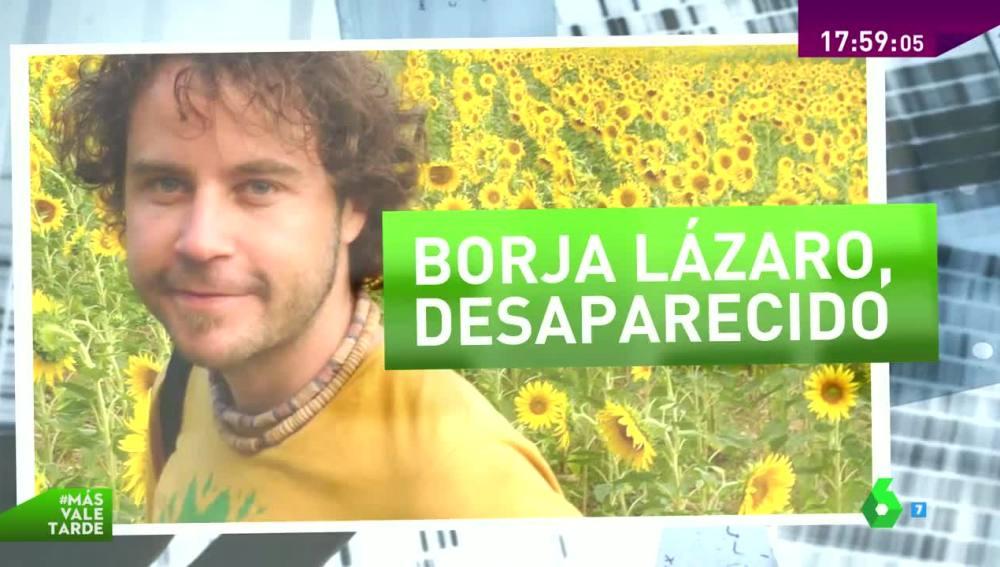 Borja Lázaro, fotoperiodista desaparecido