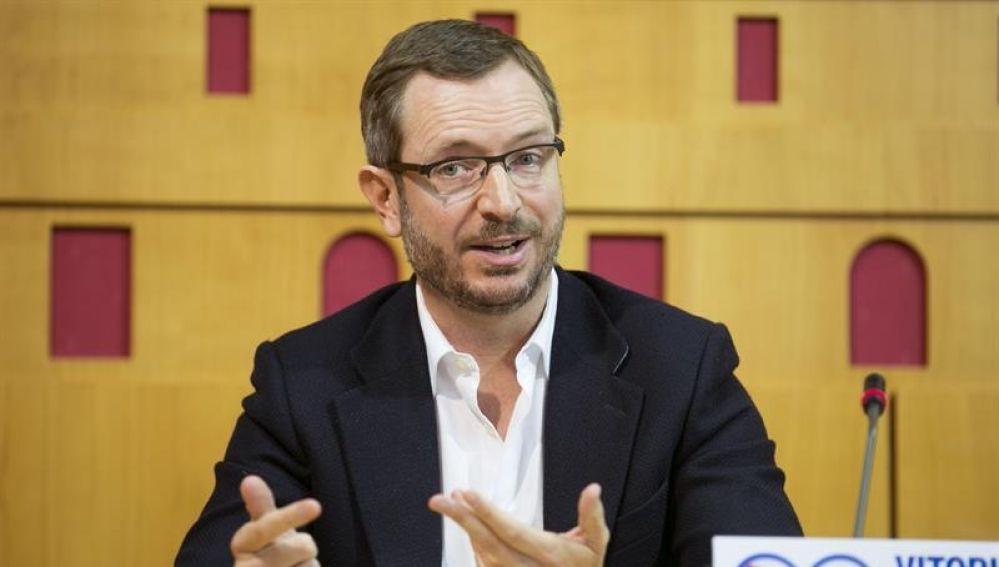 El vicesecretario de Acción Sectorial del PP, Javier Maroto