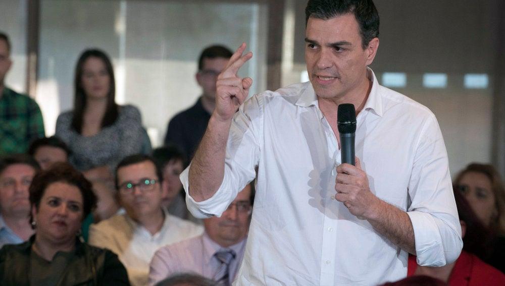 Pedro Sánchez, secretario general del PP en funciones