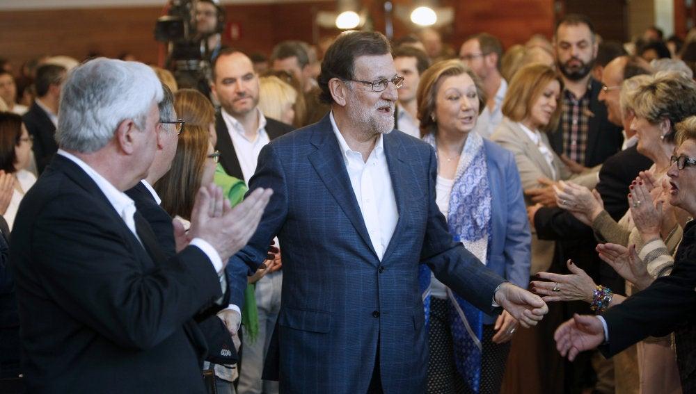 Mariano Rajoy en la convención sobre educación del PP