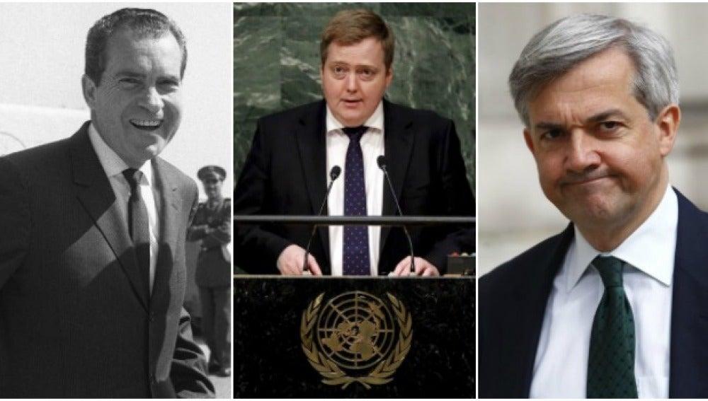 Nixon, Chris Huhne, primer ministro islandés