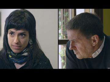 Sara Buesa, víctima de ETA, plantea preguntas a Arnaldo Otegi