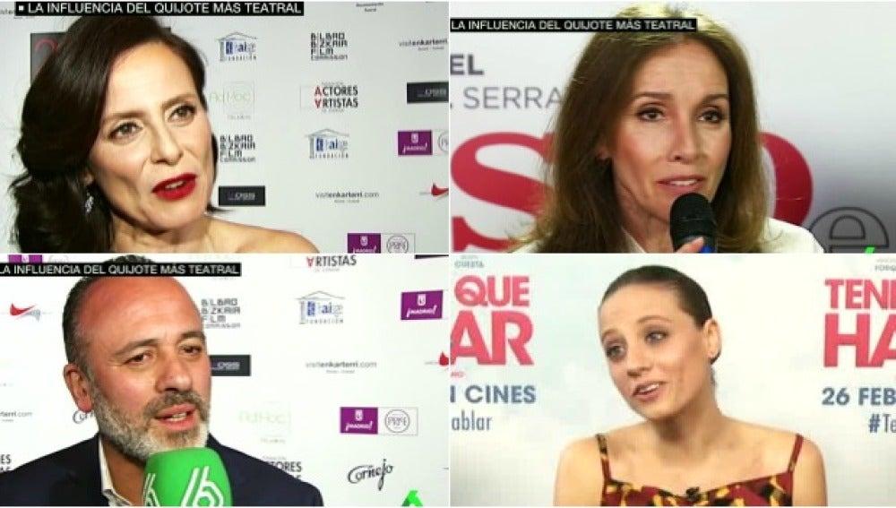 Actores españoles, sobre Cervantes
