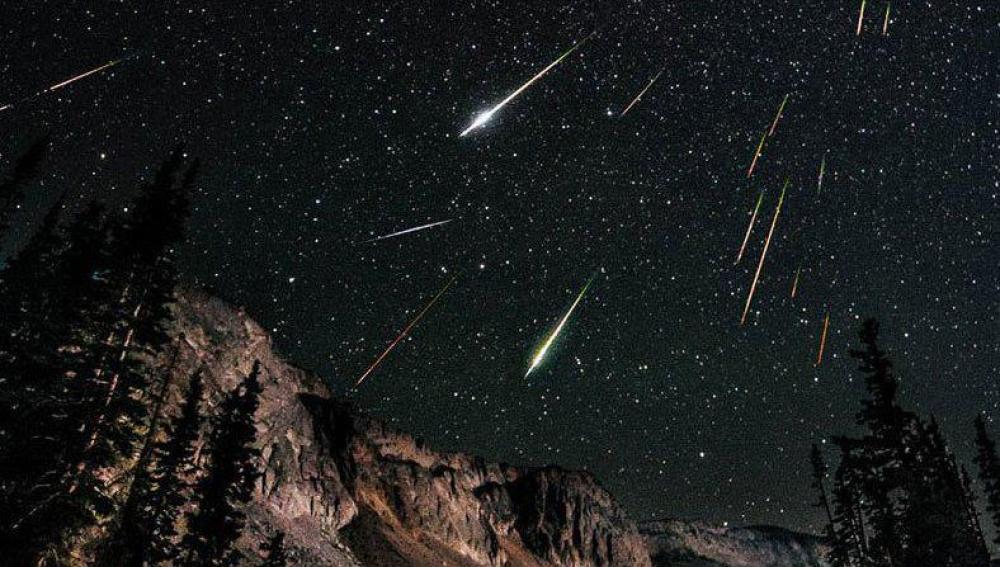 Estrellas fugaces del enjambre de las Líridas