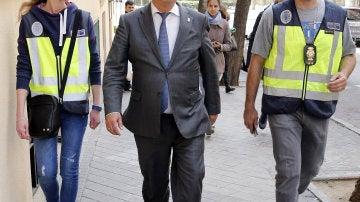 El presidente de Ausbanc Luis Pineda