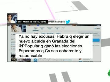 Tweet de Maíllo