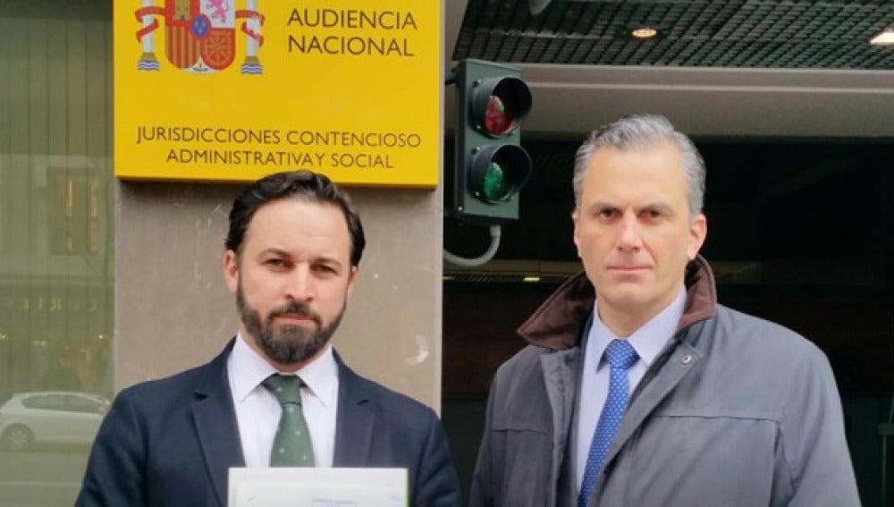 Vox denuncia a Otegi en la Audiencia Nacional