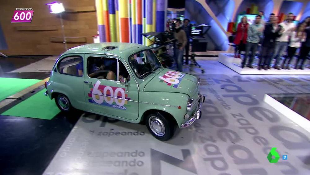 los zapeadores entran en el programa 600 con un 600