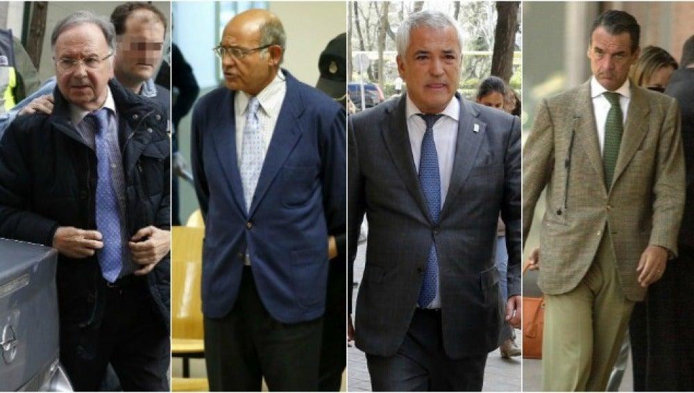 Bernad, Díaz Ferrán, Pineda y Conde