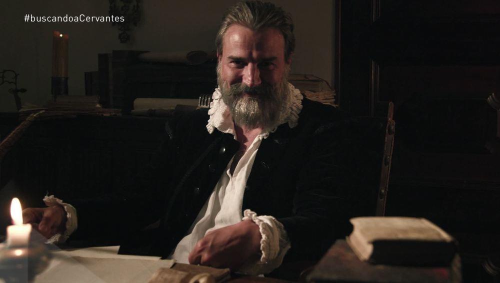 Alberto San Juan es el encargado de dar vida a Cervantes