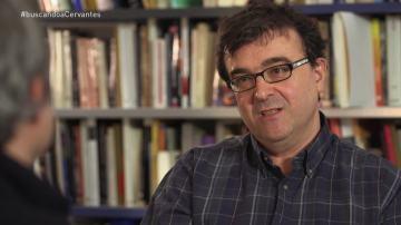 El escritor Javier Cerca