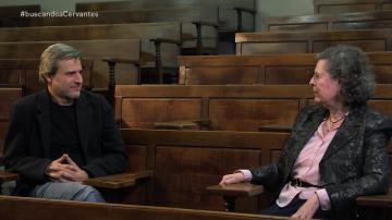 Alberto San Juan entrevista a la catedrática de Literatura del Siglo de Oro Rosa Navarro
