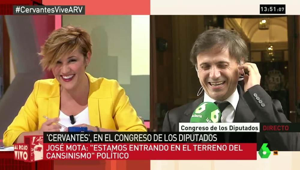 Cristina Pardo y José Mota
