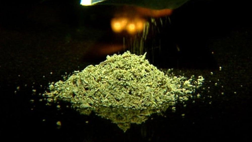Droga que se comercializa como incienso
