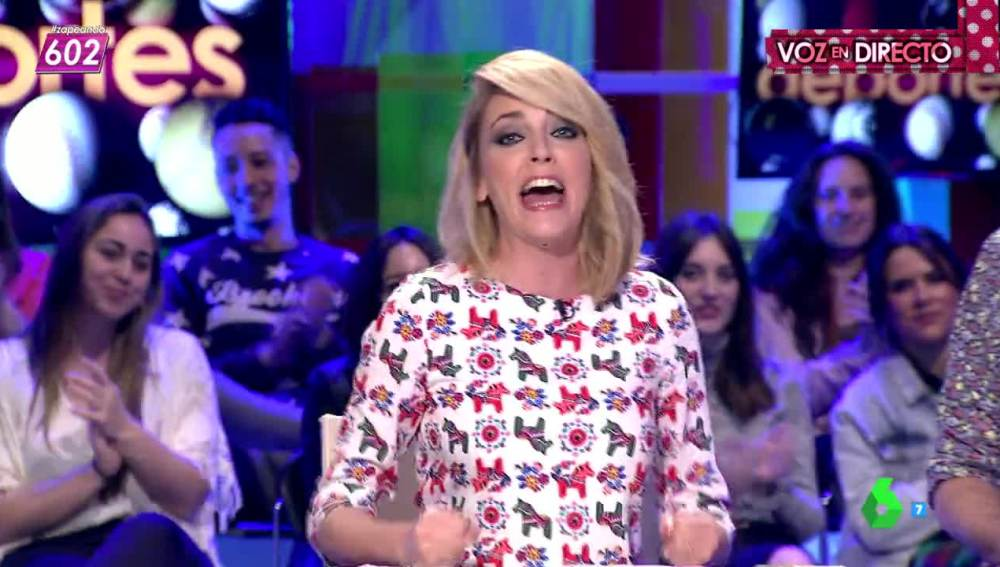 Anna Simon cantando su MSN
