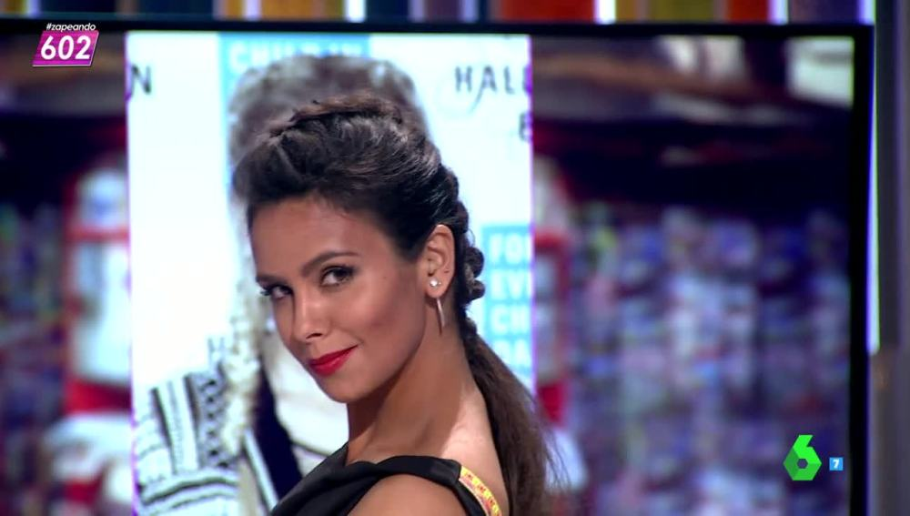 "Cristina Pedroche: ""Me he puesto esta cresta en homenaje a mi marido"""