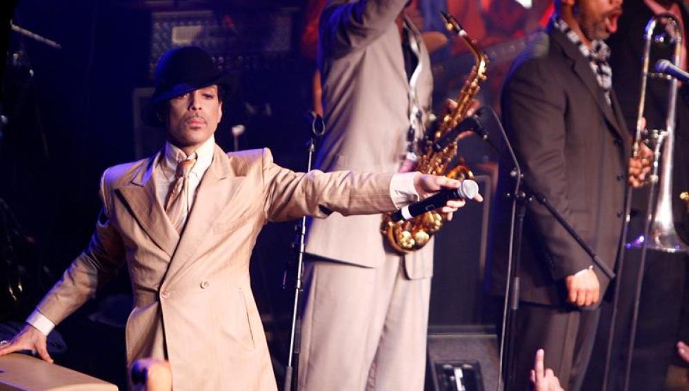 Prince en el Festival de Jazz de Montreux en Suiza