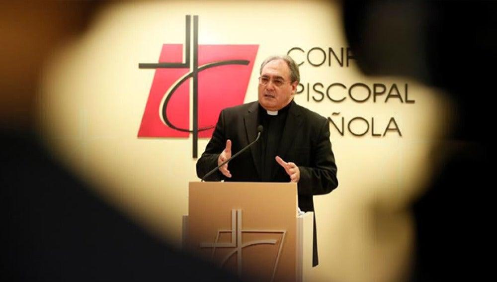 José María Gil Tamayo, secretario general de la Conferencia Episcopal