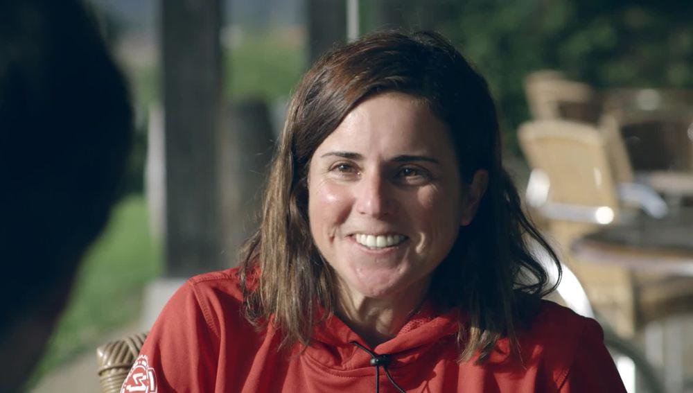 Jordi Évole entrevista a la triatleta vasca Virginia Berasategi