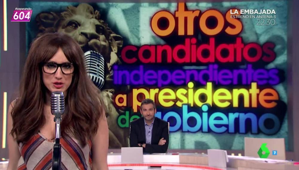Chicote el nuevo candidato a la presidencia según Ana Morgade
