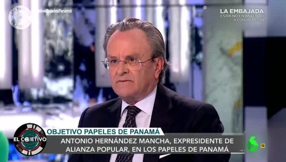 El expresidente de Alianza Popular, Antonio Hernández Mancha