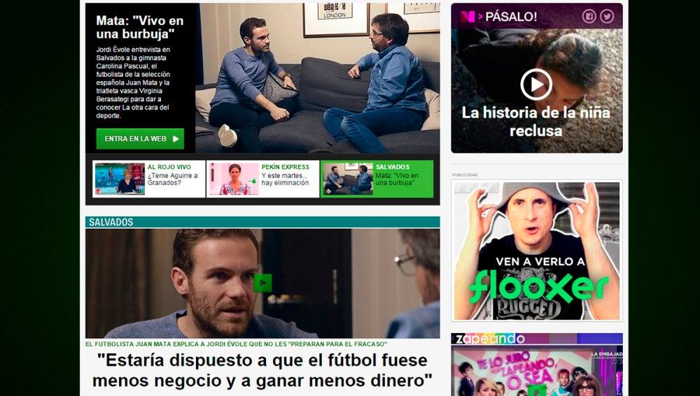 laSexta.com, web de TV que más crece respecto a marzo de 2015