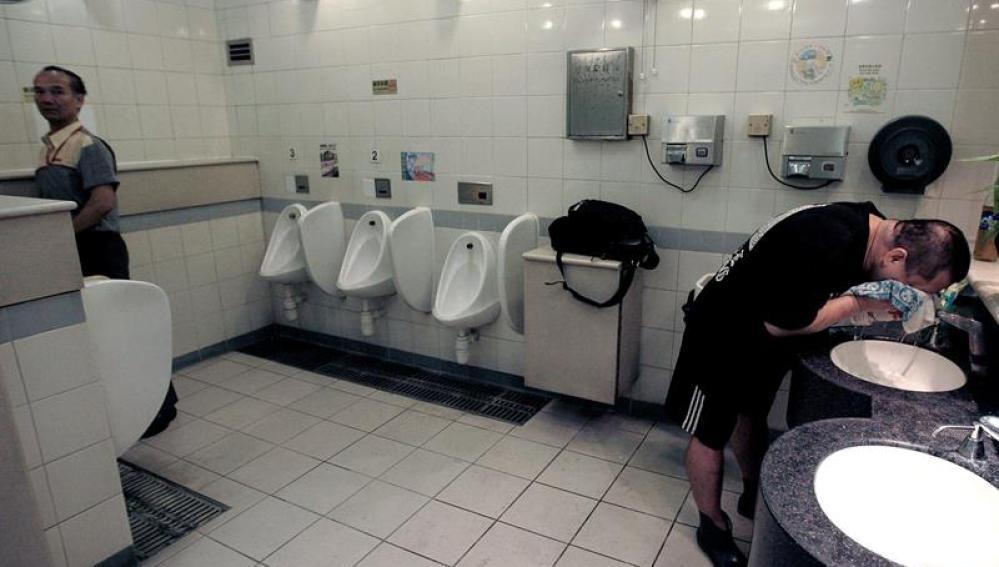 Un baño público de Hong Kong