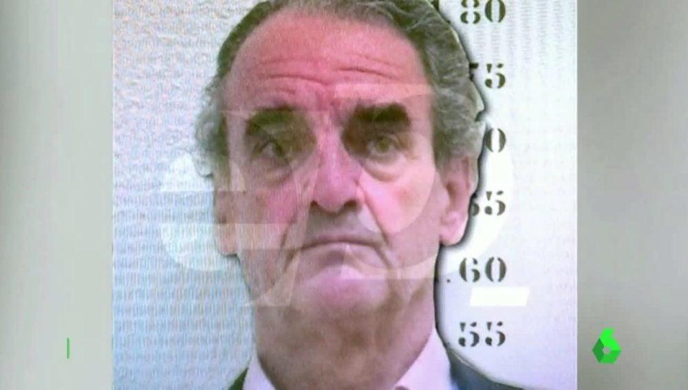 Mario Conde en su ingreso en prisión