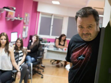 El director de cine porno Ignacio Allende Fernández, más conocido como Torbe
