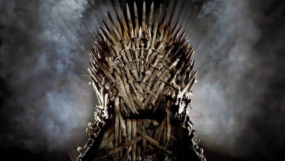 Imagen del trono de hierro