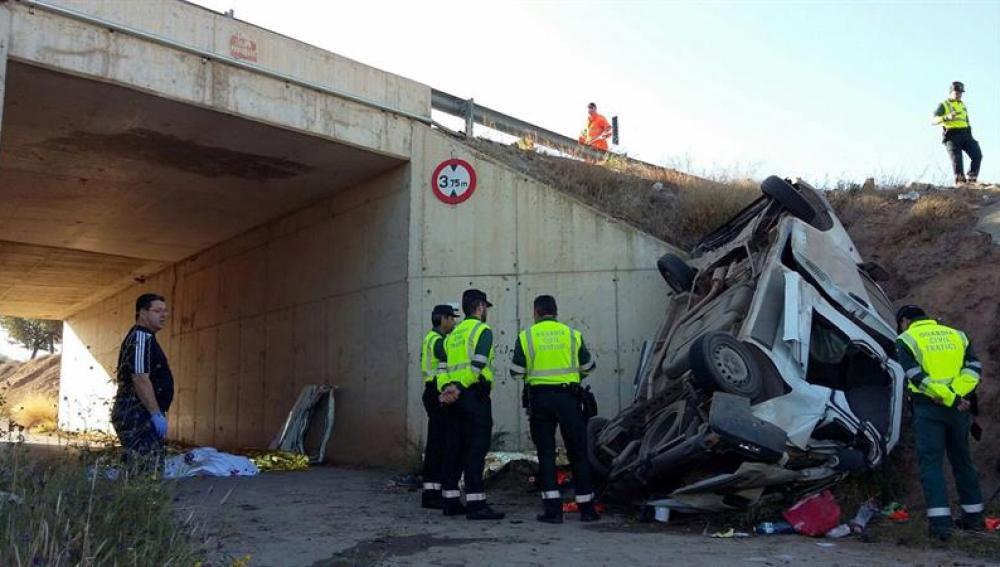 Accidente en Murcia