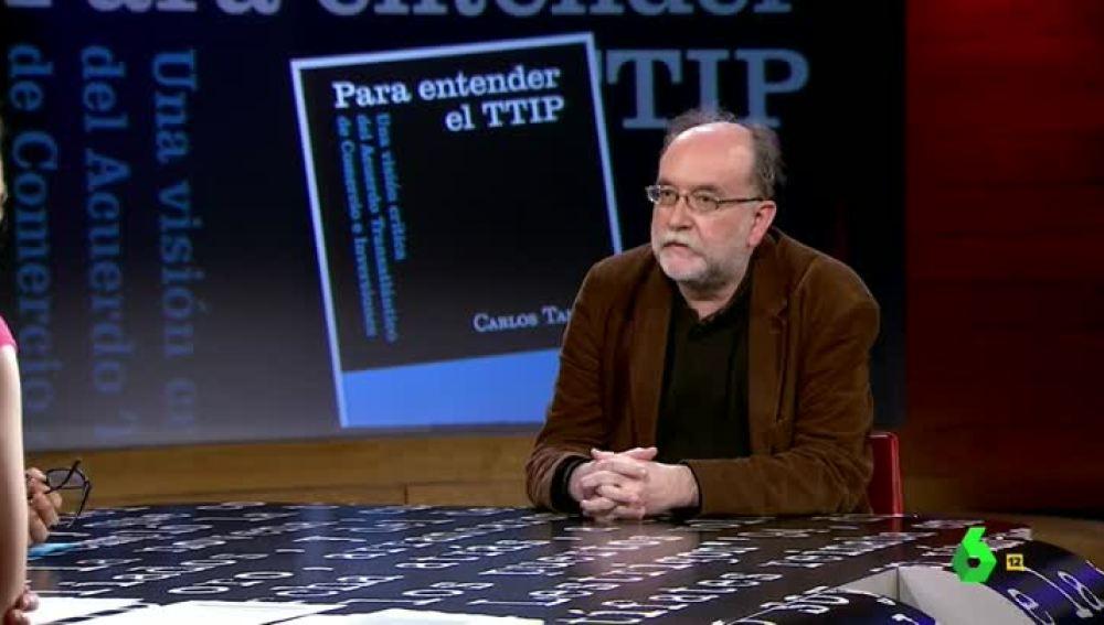 Carlos Taibo visita El Intermedio