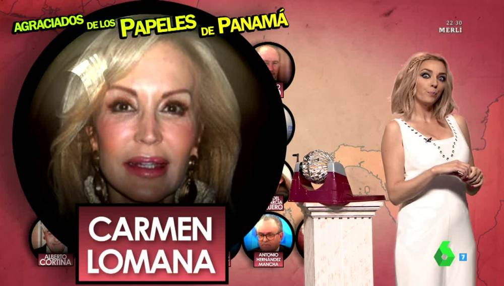 """Anna Simon: """"Carmen Lomana ya tenía un plan para despistar a hacienda"""""""