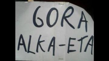 Cartel Gora Alka ETA