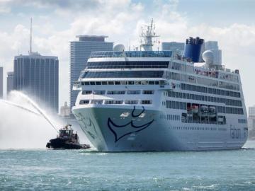 El primer crucero de EE.UU. a Cuba en más de 50 años