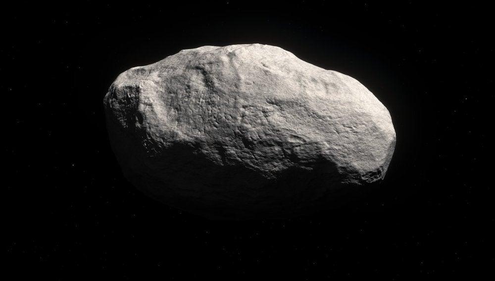 Representación artística del cometa C/2014 S3 (PANSTARRS).