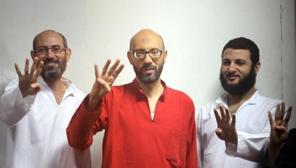 Un tribunal egipcio condenó ha condenado a seis personas a la pena capital acusadas de espionaje,