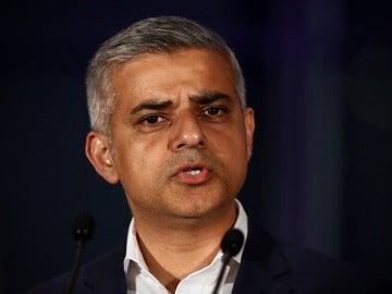 El alcalde de Londres, Sadiq Khan, en una imagen de archivo