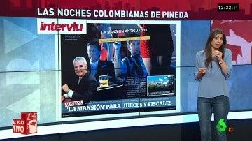 Las noches colombianas de Pineda