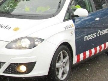 Un coche de Mossos d'Esquadra