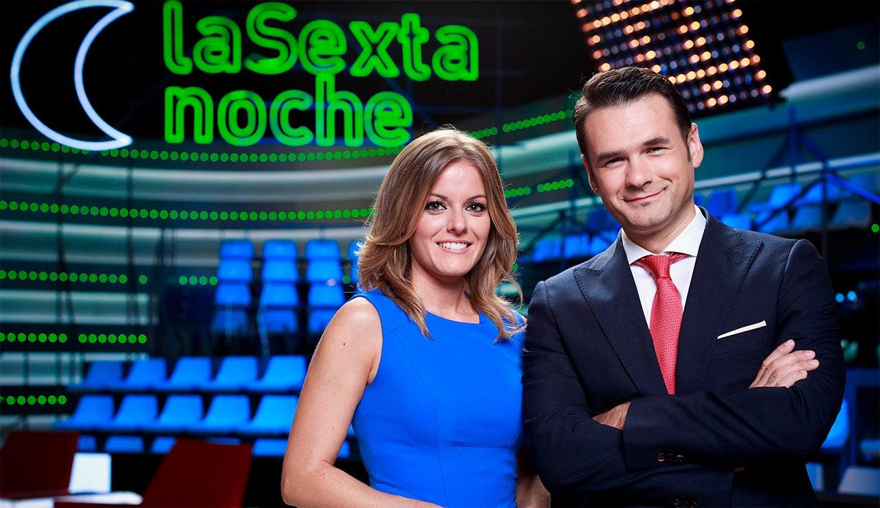 Iñaki López y Andrea Ropero conducen laSexta Noche