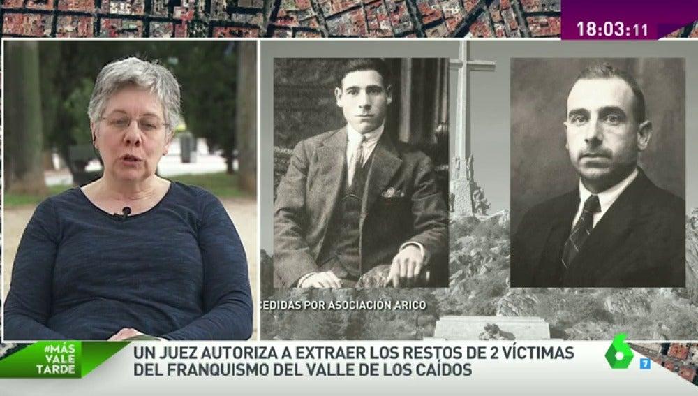 Familiar de víctimas del franquismo