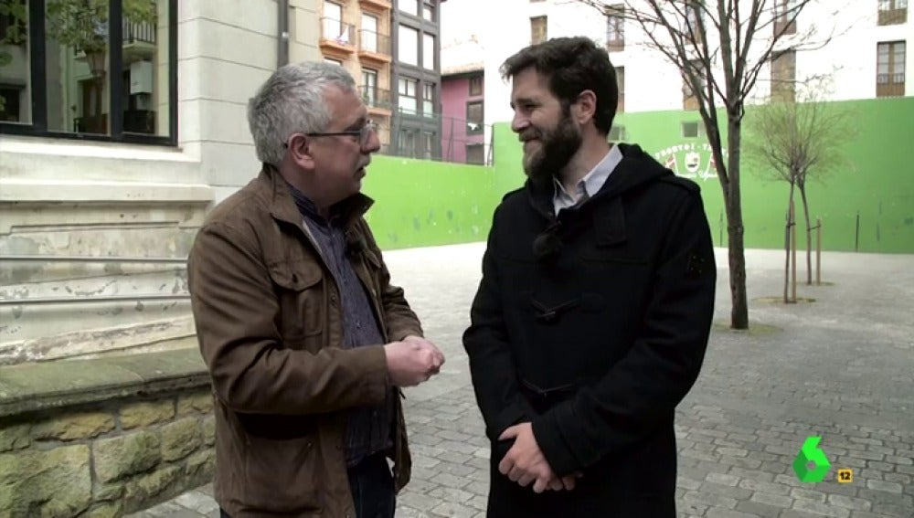 Gonzo entrevista a la víctima de ETA, Gorka Landaburu