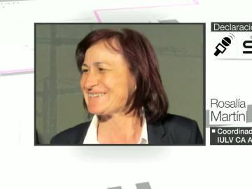 Rosalía Martín, coordinadora provincial de IULV CA Almería