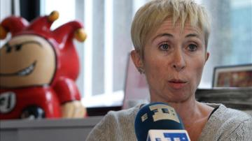 La directora de El Jueves, Mayte Quílez