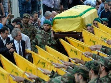 Funeral de Mustafá Badreddine