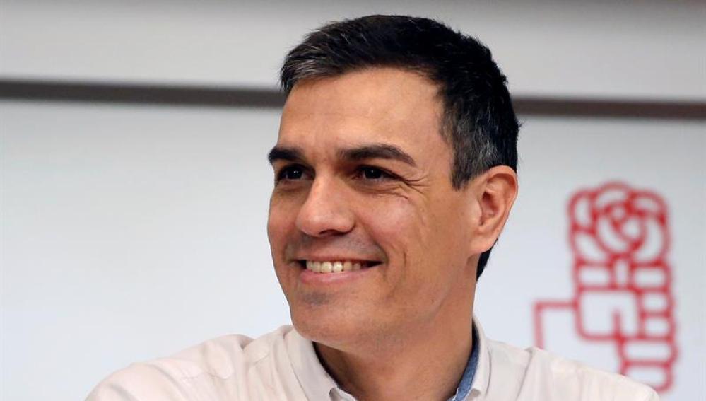 El candidato socialista a las elecciones del 26-J, Pedro Sánchez