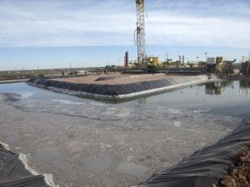 Instalación de fracking