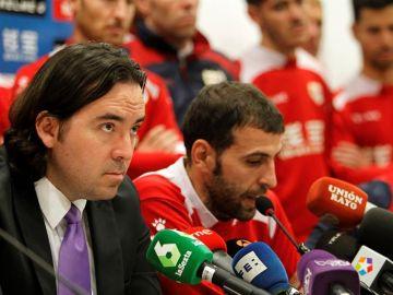 Martín Presa, presidente del Rayo Vallecano